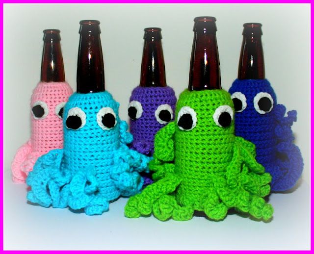 Beer Critter Bottle Cozy Giveaway!!