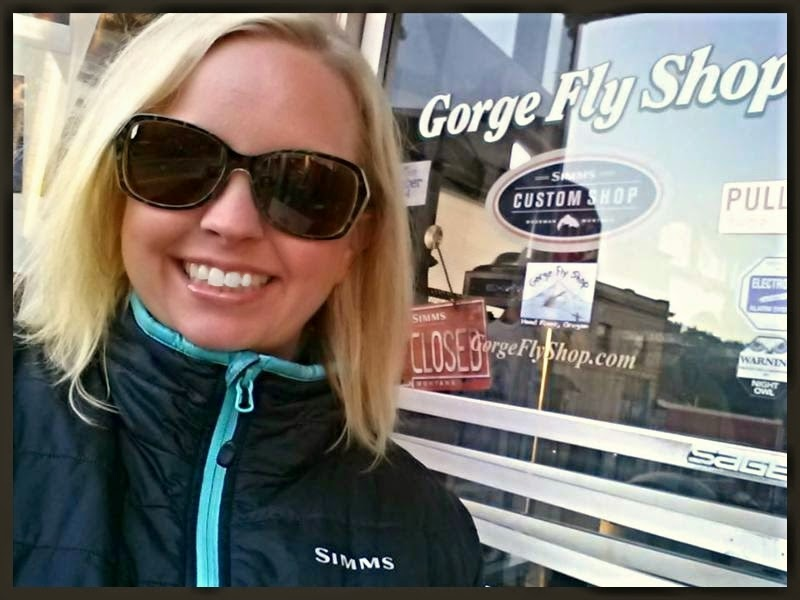 Gorge Fly Shop: lyndsey duddles - Deskmaster