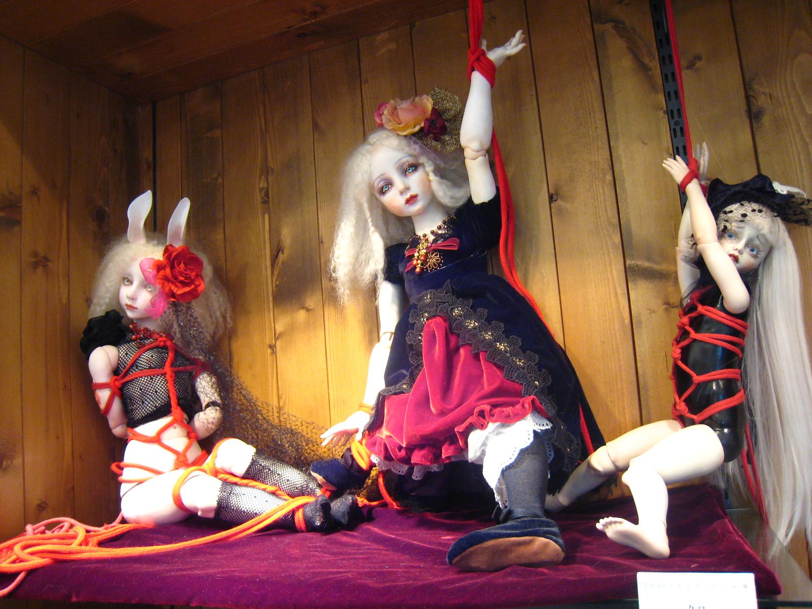 Kaiju Korner Creepy Doll Show At Kaiju Blue