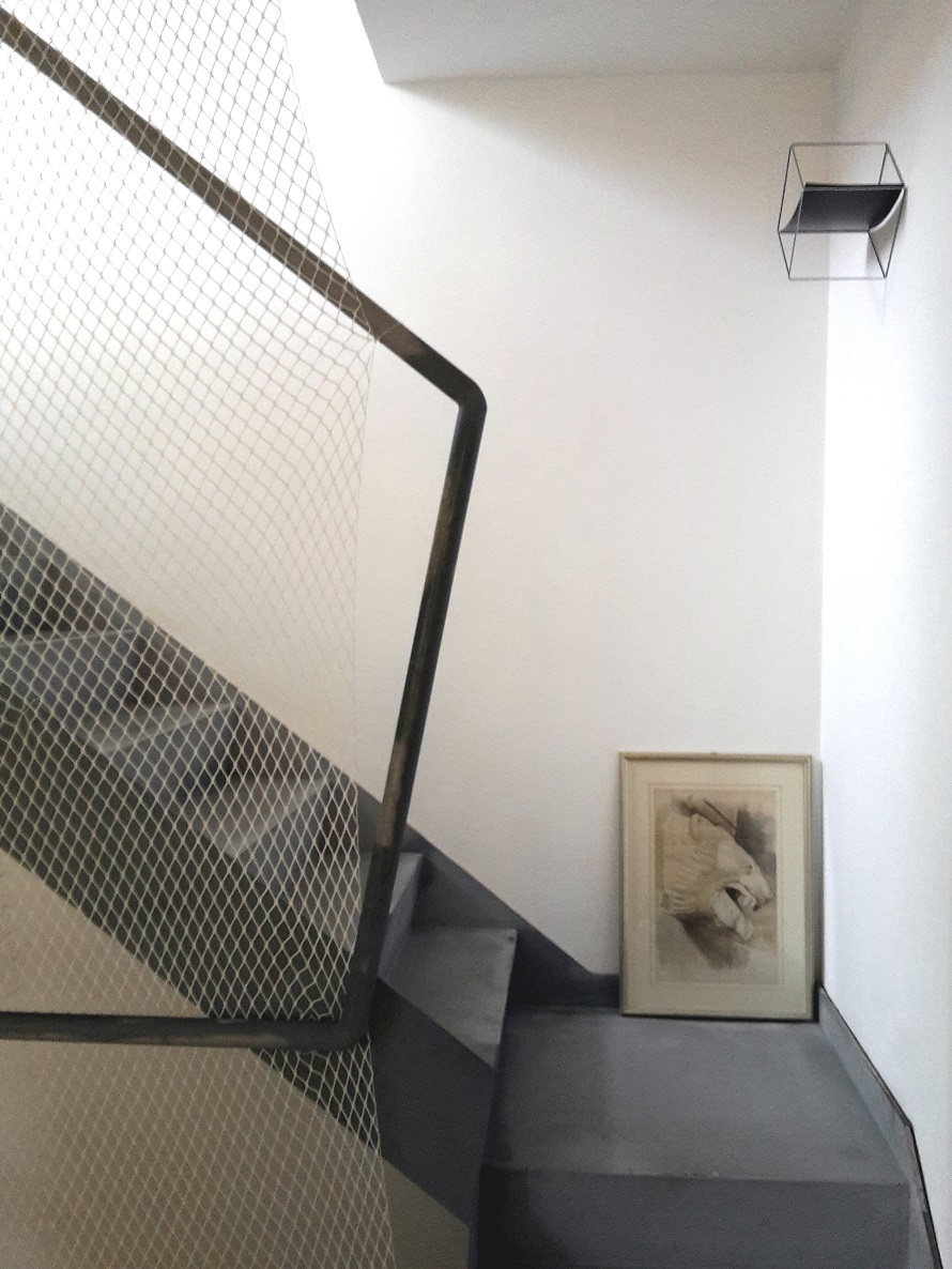 scala in ferro rete iron staircase net