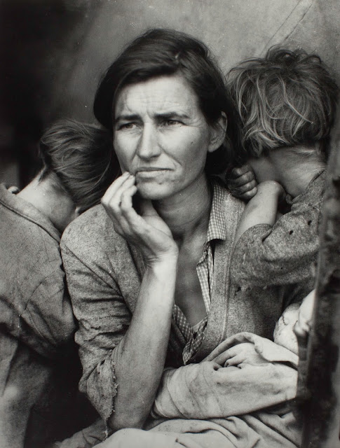 Dorothea Lange 1895-1965 Migrant Mother 1936 Photograph, gelatin silver print on paper 318 x 241 mm The Sir Elton John Photography Collection