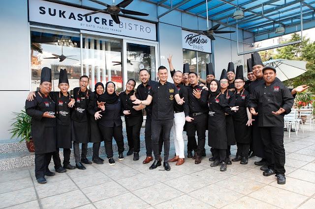 MIGF 2018 - SukaSucre Bistro Chef Team - Wisma RYU, Kuala Lumpur
