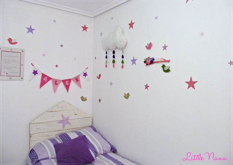 decoracion habitacion nina diy handmade