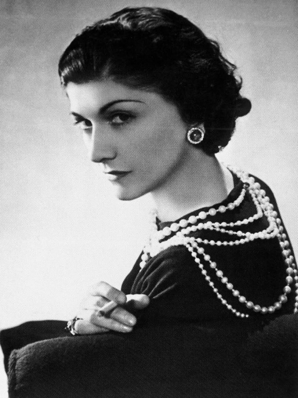 Coco Chanel is a controversial figure. Some say she was a German spy, but she was never charged with anything. Maybe it's cheating to include her here because basically she was a model... Whatever - she pulls it off.