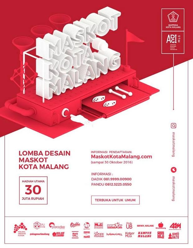 Lomba Desain Maskot Kota Malang