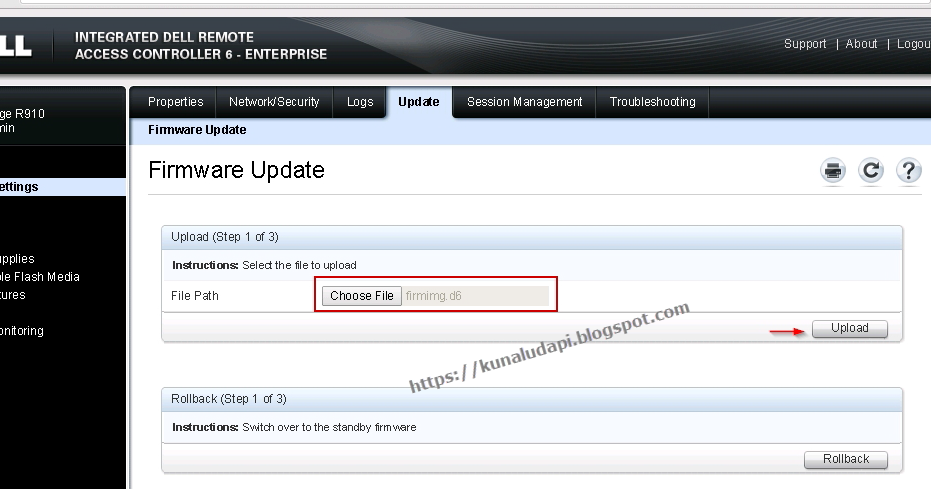 vGeek: Upgrade Firmware (iDRAC and LifeCycle Manager) on Dell