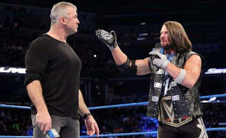 Shane McMahon vs. AJ Styles Wrestlemania 33
