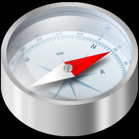 mobile compass