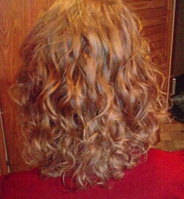 Wasze włosy u Mysi. Marta. Z żółtego na rudawy z miodową poświatą.
