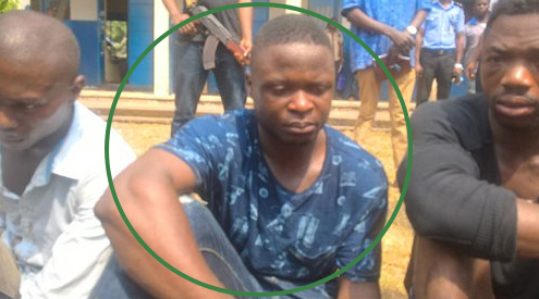 navy officer escort armed robber abuja