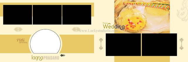 Wedding Album PSD Design 2019