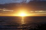 El solsticio a la puesta de sol