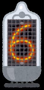 ニキシー管のイラスト(6)