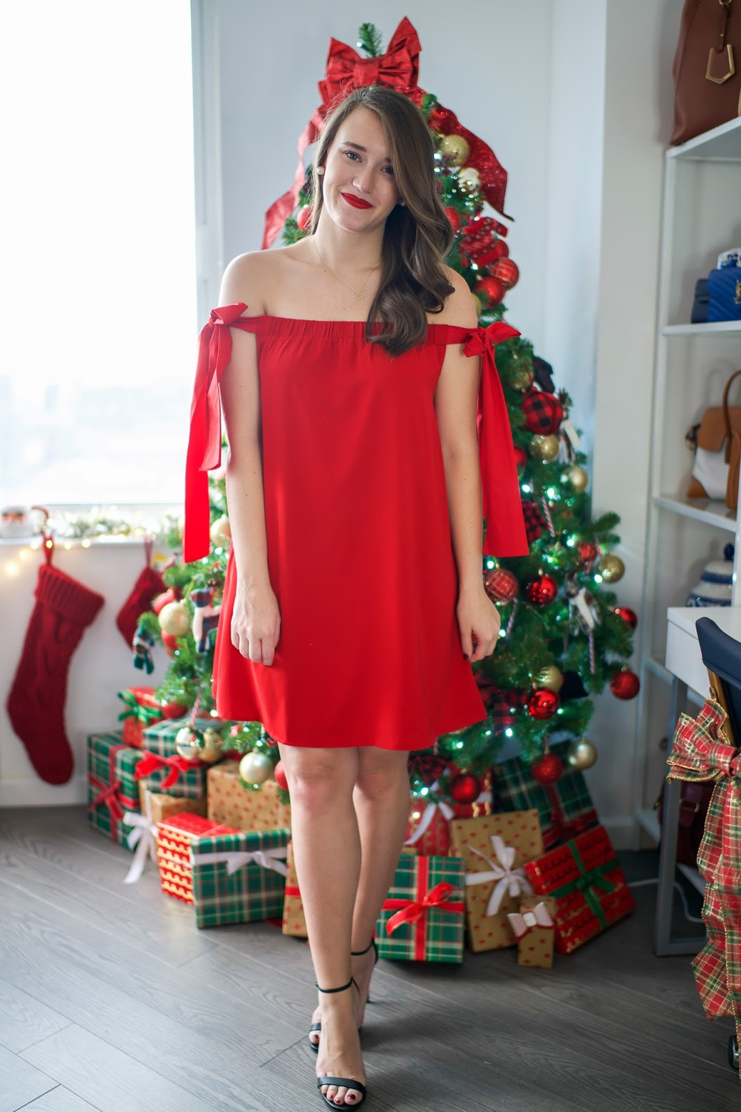 Sugarlips Red Bow Dress