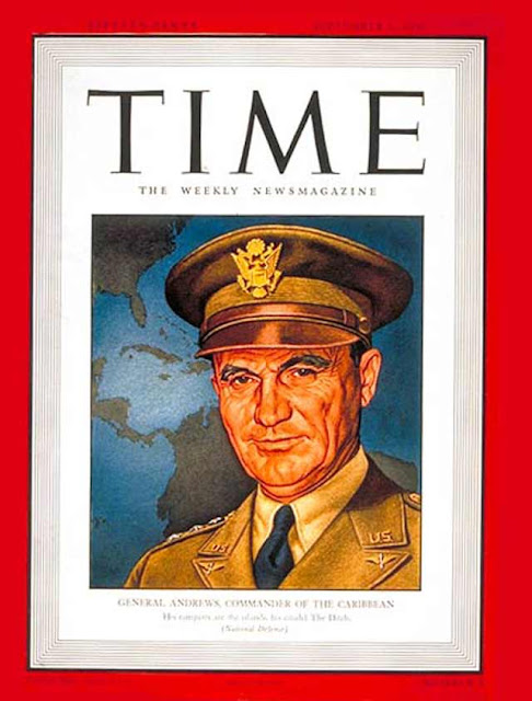 General Frank Andrews on the cover of Time magazine, 1 September 1941 worldwartwo.filminspector.com