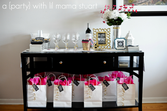 a day with lil mama stuart 30th BirthdayFavorite Things Party