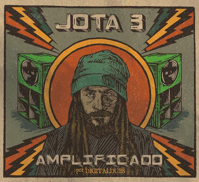 Jota 3 lança disco de reggae, falando sobre revolução, dirigido pelo sound system carioca Digitaldubs