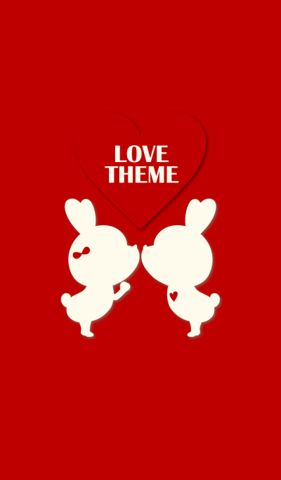 LOVE THEME RED.