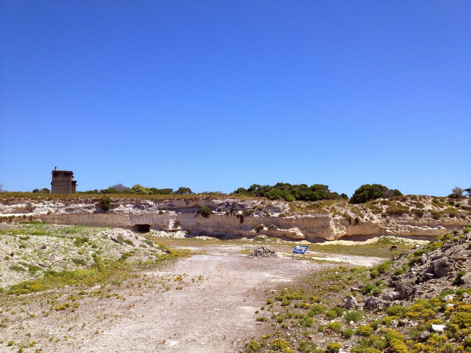 Robben Island - The limestone quarry