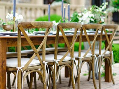 Sewa Cross Back Chairs