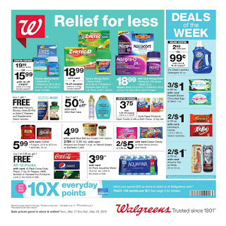 ⭐ Walgreens Ad 3/17/19 ✅ Walgreens Weekly Ad March 17 2019