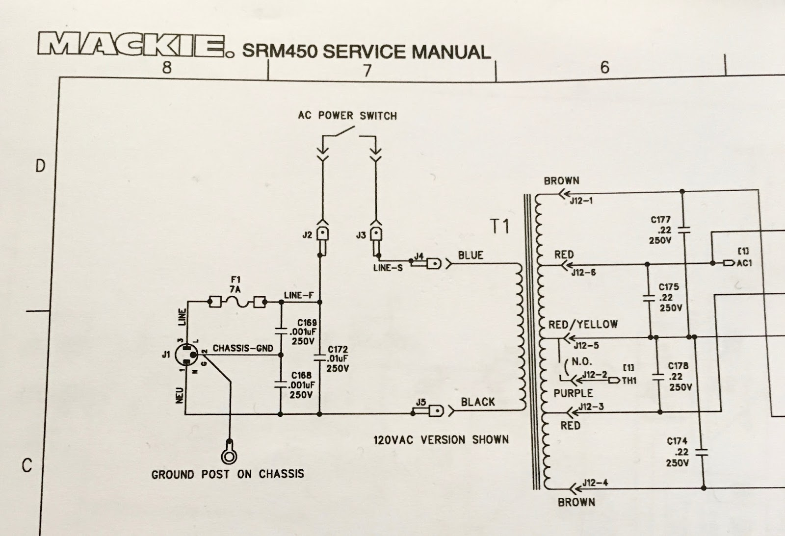 Phils technical blog power supply toroid in mackie srm450 pa the real bummer is that the transformer isnt stocked by mackie or indeed anyone else and the folks at save my light only do a minimum order ten pieces asfbconference2016 Images