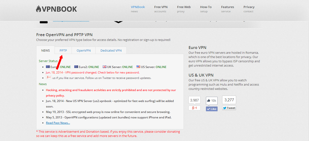 [TUTORIAL] Cara Setting VPN Via PPTP Pada Windows 7