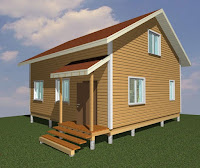 Проект каркасного дома фото