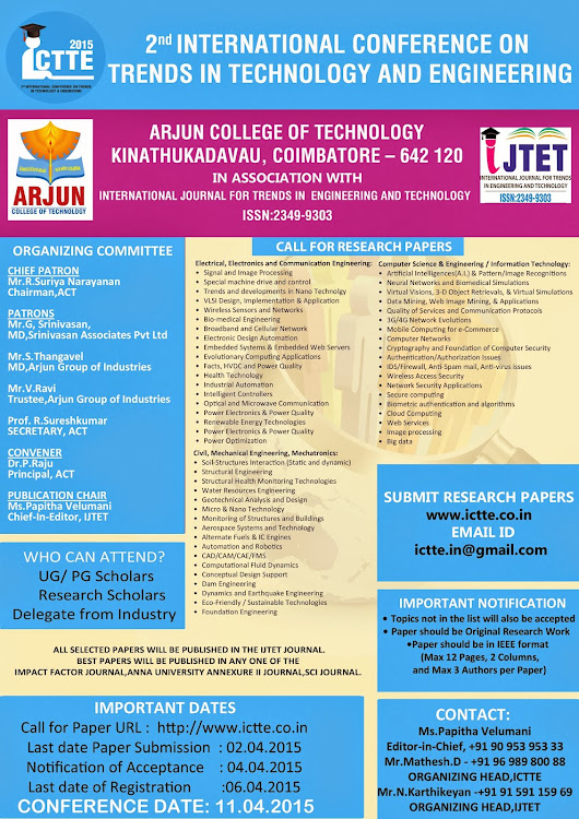 ict conference paper submission One paper will be selected from each oral presentation session, and the presenter of this paper will obtain the excellent paper certificate all the selections will be based on the comments and marks given by the session chairs and conference chairs.