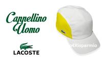 Logo Commenta e vinci gratis un cappellino da uomo Lacoste