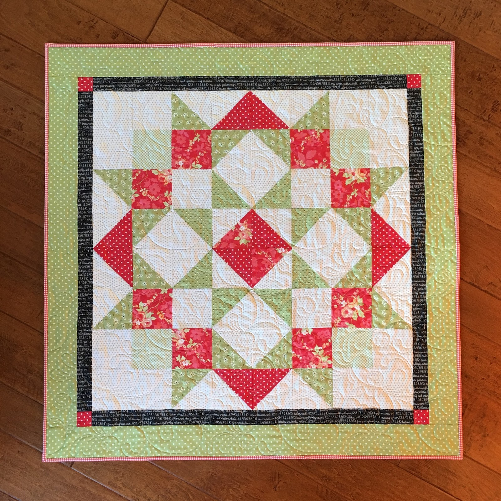 Carried Away Quilting Moda Love Quilt For Christmas