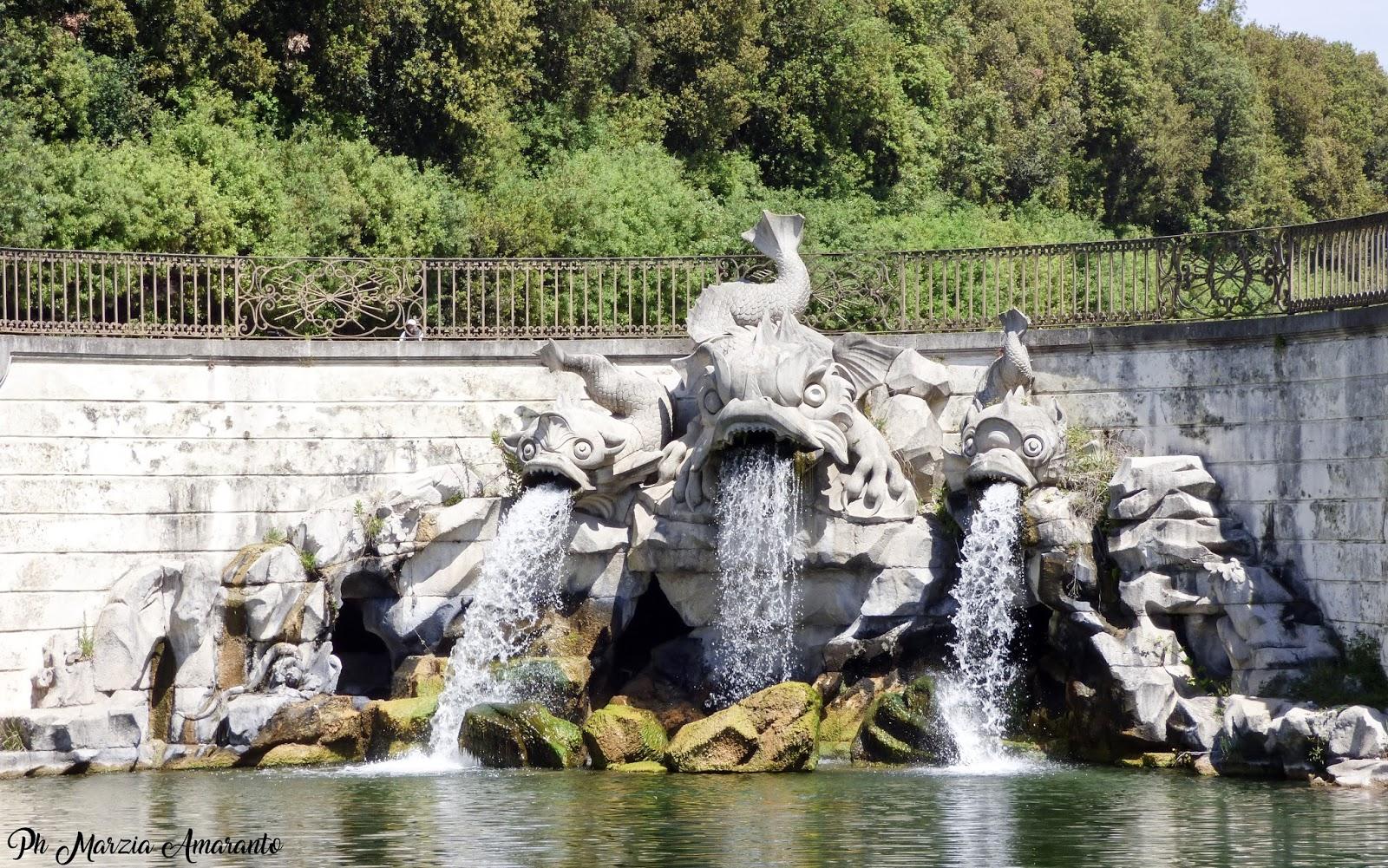 Fontana dei delfini reggia di Caserta