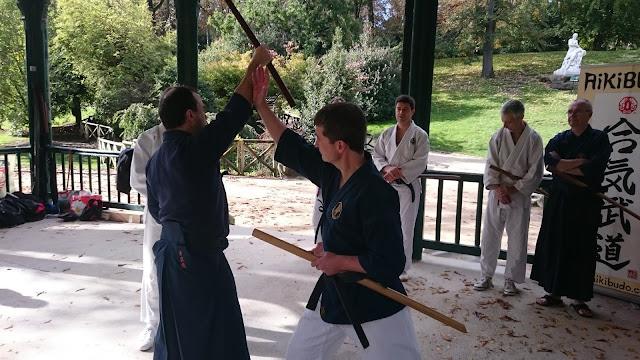 Liens entre pratique au sabre et à mains nues