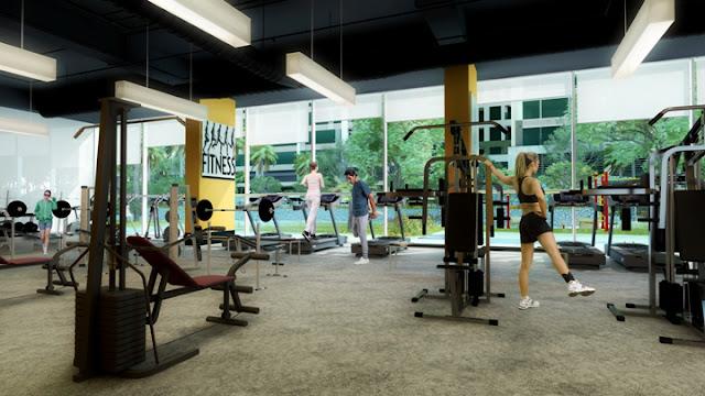 phòng tập gym tại pandora