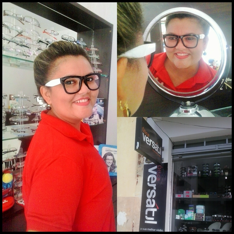 cebf6ce8854b4 De look novo venho falar da   ÓticaVersátil A sua melhor visão!!! Você  encontra aqui lindos modelos de óculos e lentes personalizadas para seu  tipo.