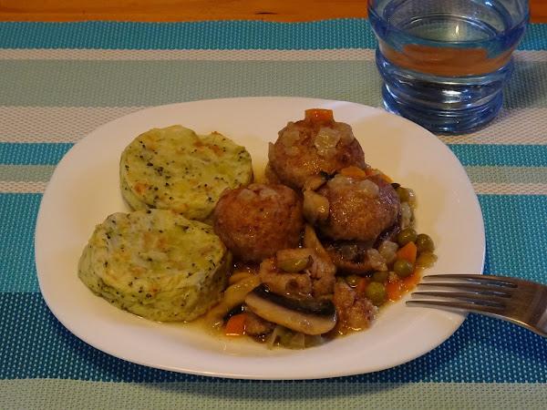 Medallones de patata y br coli cocina - Acompanamiento para albondigas ...