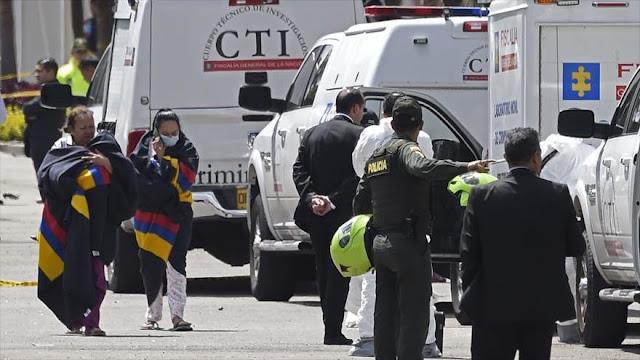 Aumenta a 21 el número de muertos en el atentado de Bogotá