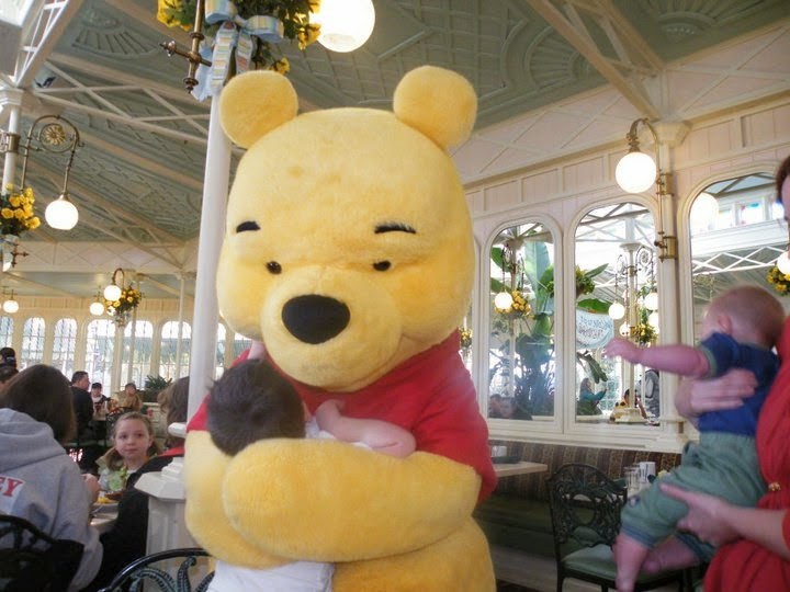 crystal palace, breakfast with pooh, disney,