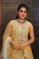Nivetha Thamos in bright yellow dress at Ninnu Kori pre release function ~  Exclusive (72).JPG