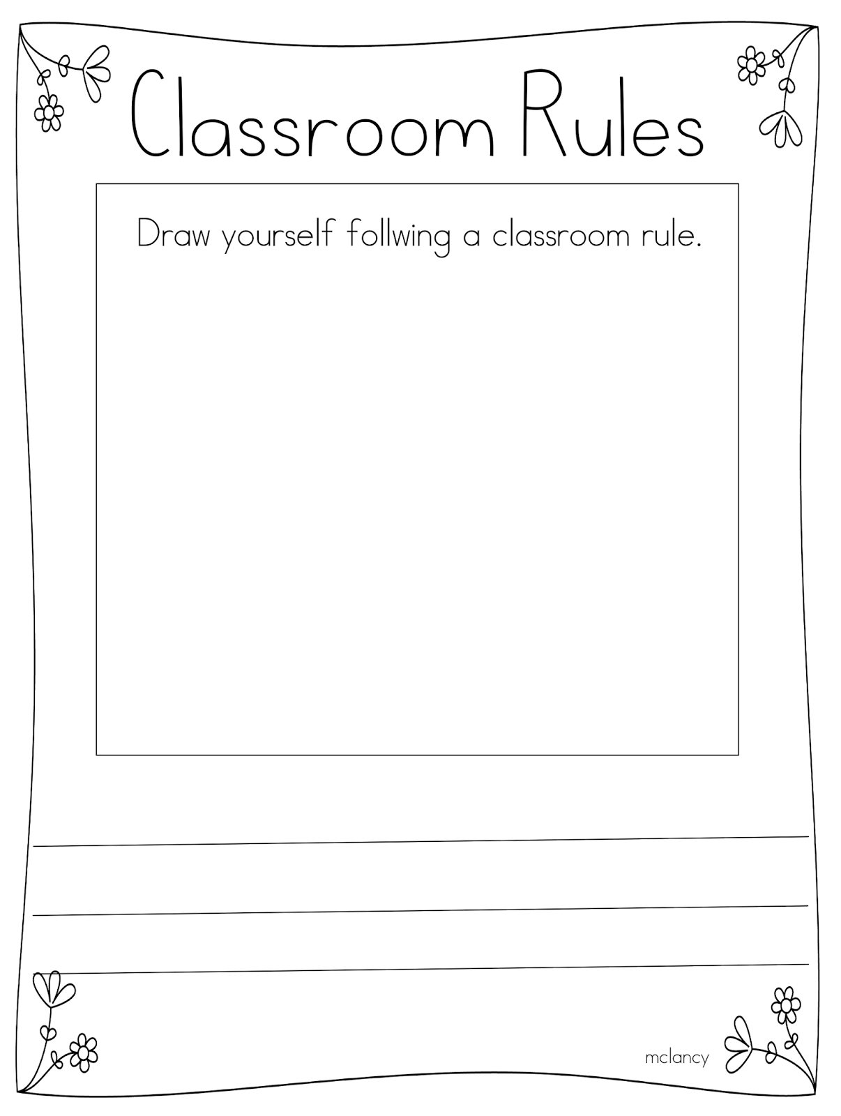 Download Classroom Rules