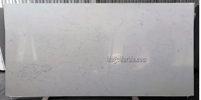 White quartz countertops that look like marble