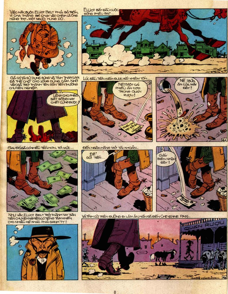 Lucky Luke tap 2 - ke san tien thuong trang 4
