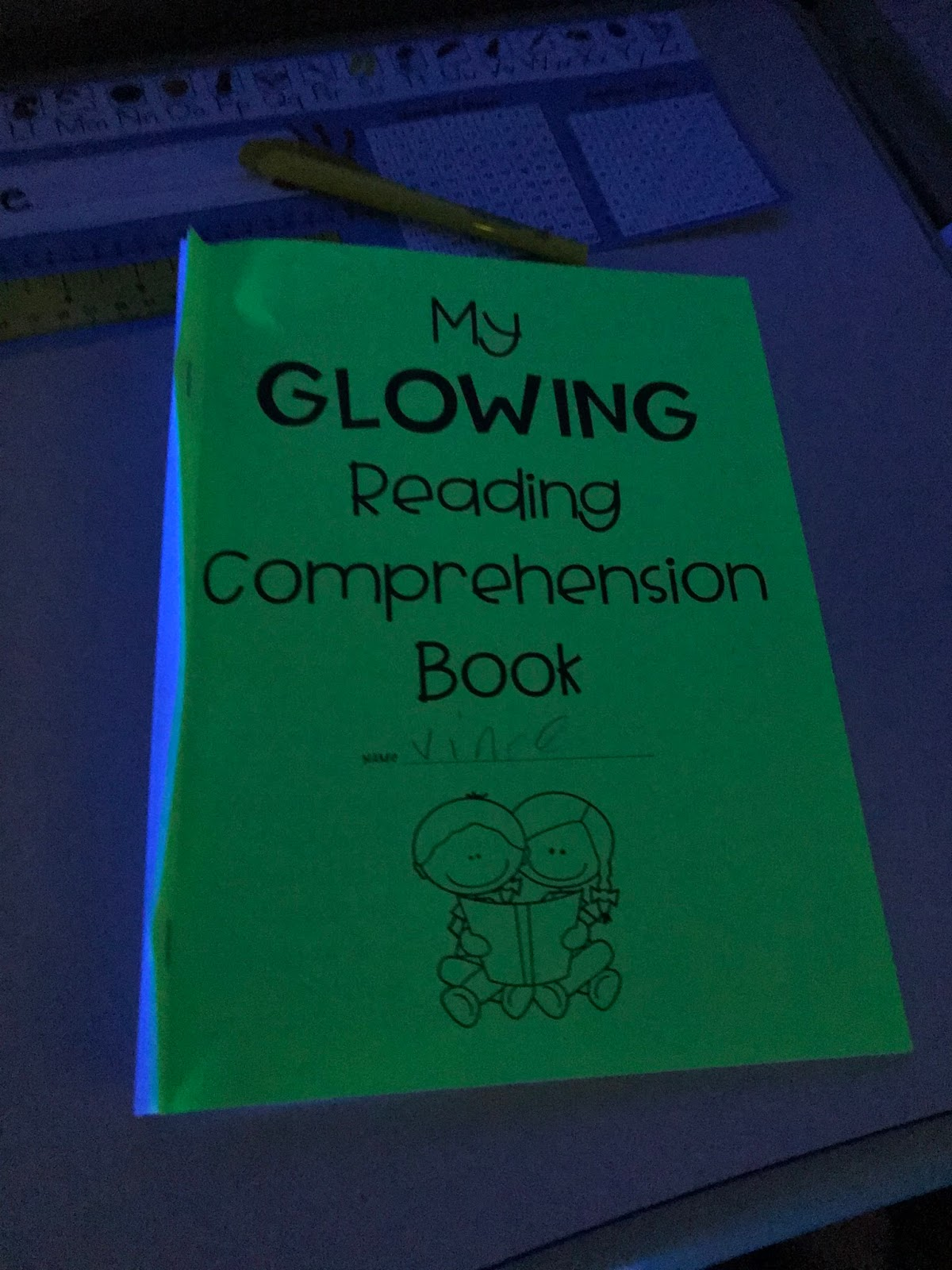Teal Pencil Glow Day With Math And Science Freebies