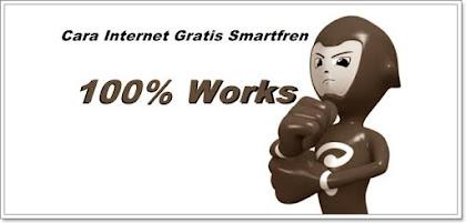 Cara internet gratis Smart Reguler, Smart Extra, Fren Extra, Lokal Plus, maupun Smartfren Social atau juga smartfren anti lelet Android Smartfren