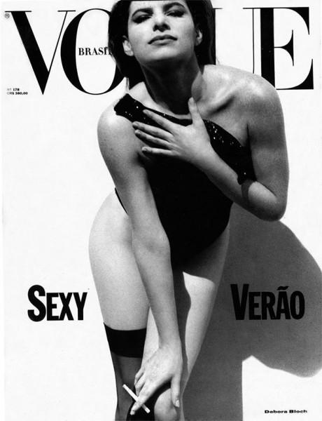 Vogue Brasil capas antigas