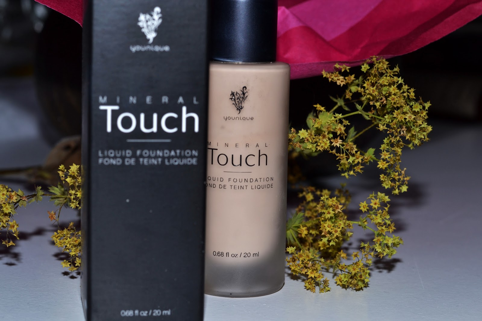 [REVIEW] Younique mineral touch liquid foundation ...