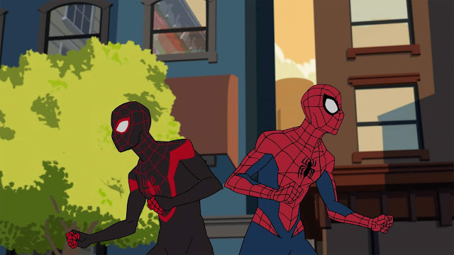 New Marvel Spider-man in Disney Channel October 2017