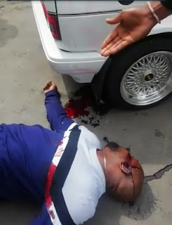 Emeka Nzelu: Nigerian Man Shot Dead In South Africa (Graphic Photos)