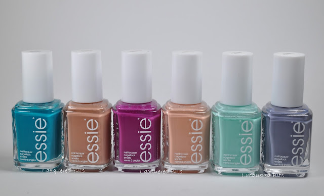 Essie Spring 2015 Flowerista Collection