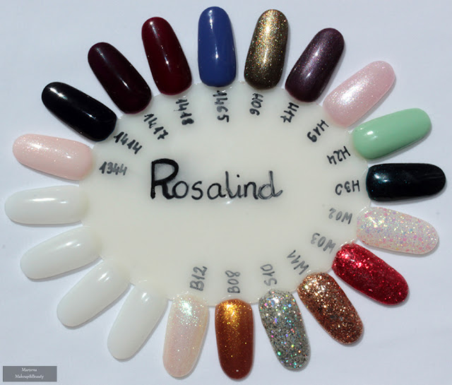 Rosalind  swatches